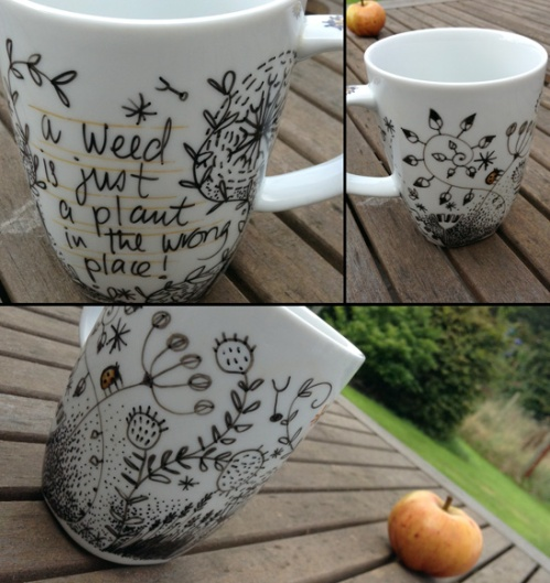 Illustrated mug