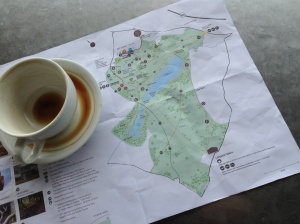Map of Yorkshire sculpture park