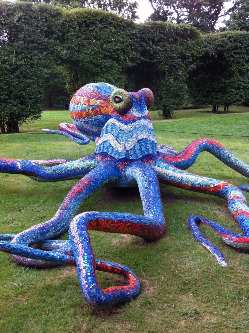 Giant Mosaic Octopus by Marialuisa Tadei